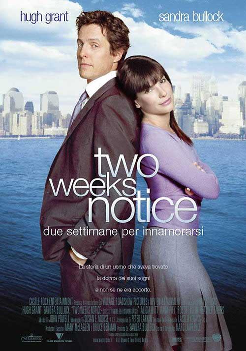 Due settimane per innamorarsi - Film 2002